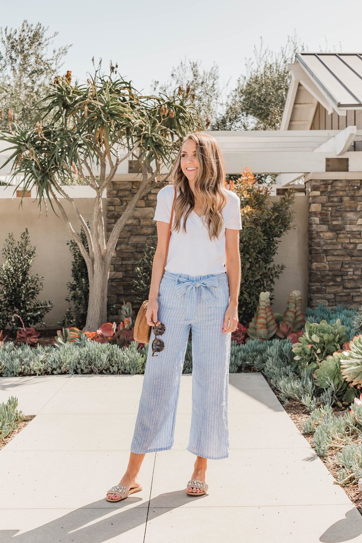 How To Sew Cropped Wide Leg Pants Beginner Sewing