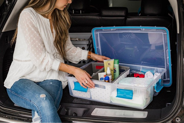 how to put together an emergency kit for your car
