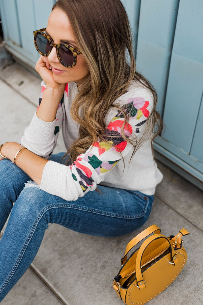 an easy outfit for spring