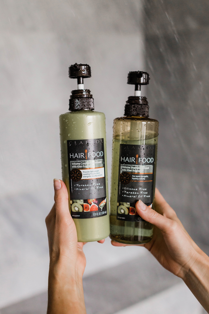 all natural shampoo and conditioner that gives volume and shine!