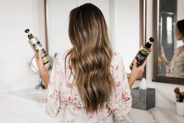 how to get volume in your hair without any heat damage or curlers!
