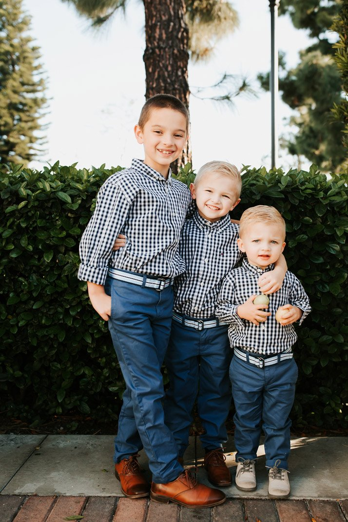 I love making my boys match, especially for Easter!