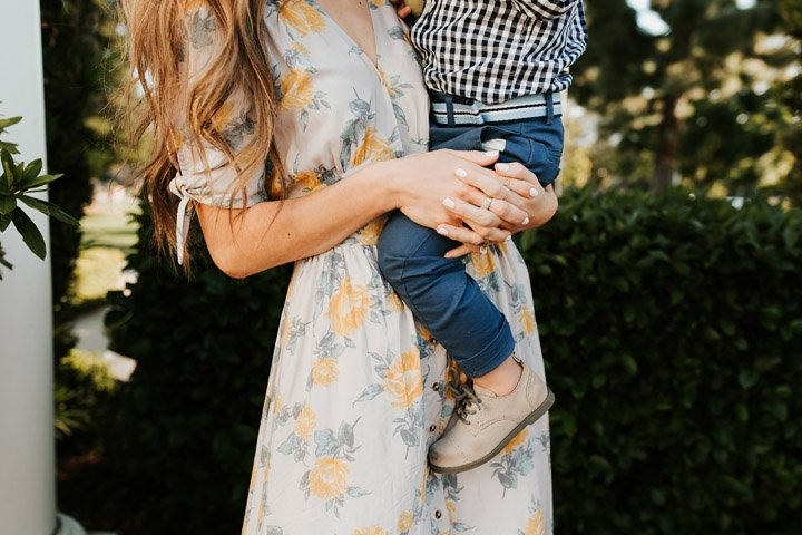 Gingham and Floral for easter