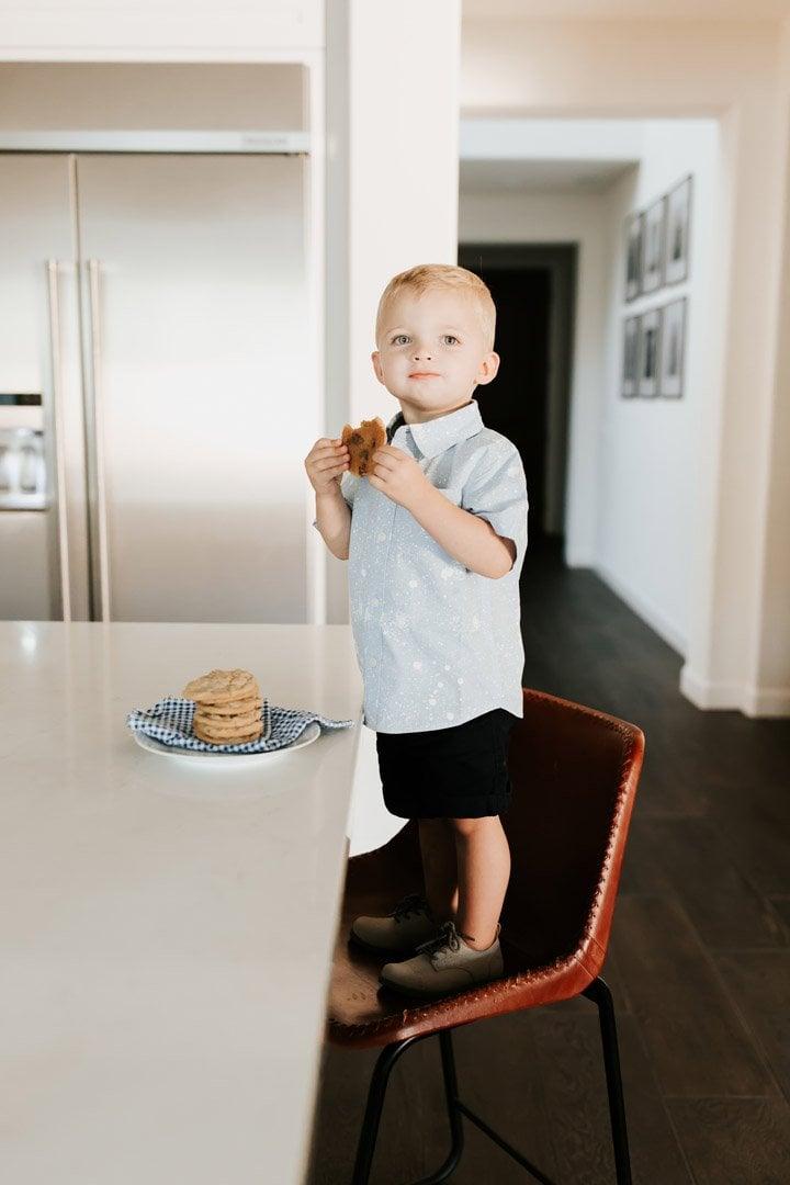 stealing cookies