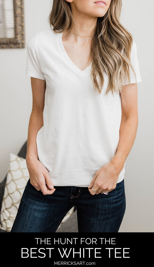The hunt for the best white t-shirts!