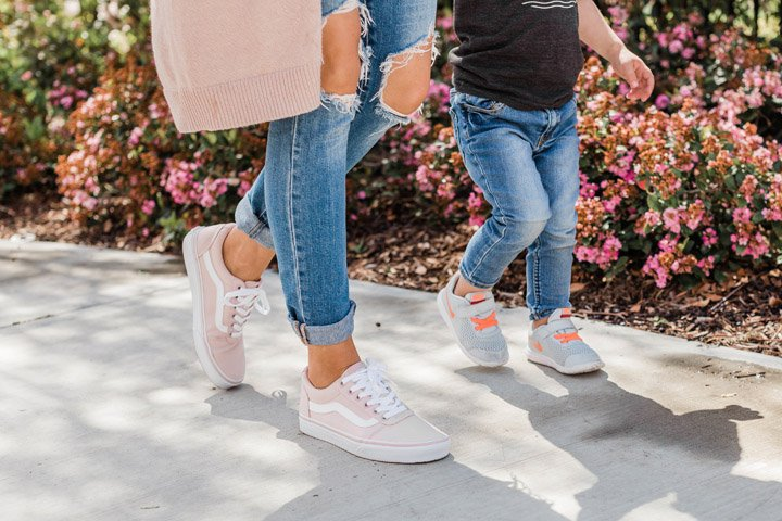 stunning pink vans shoes outfit