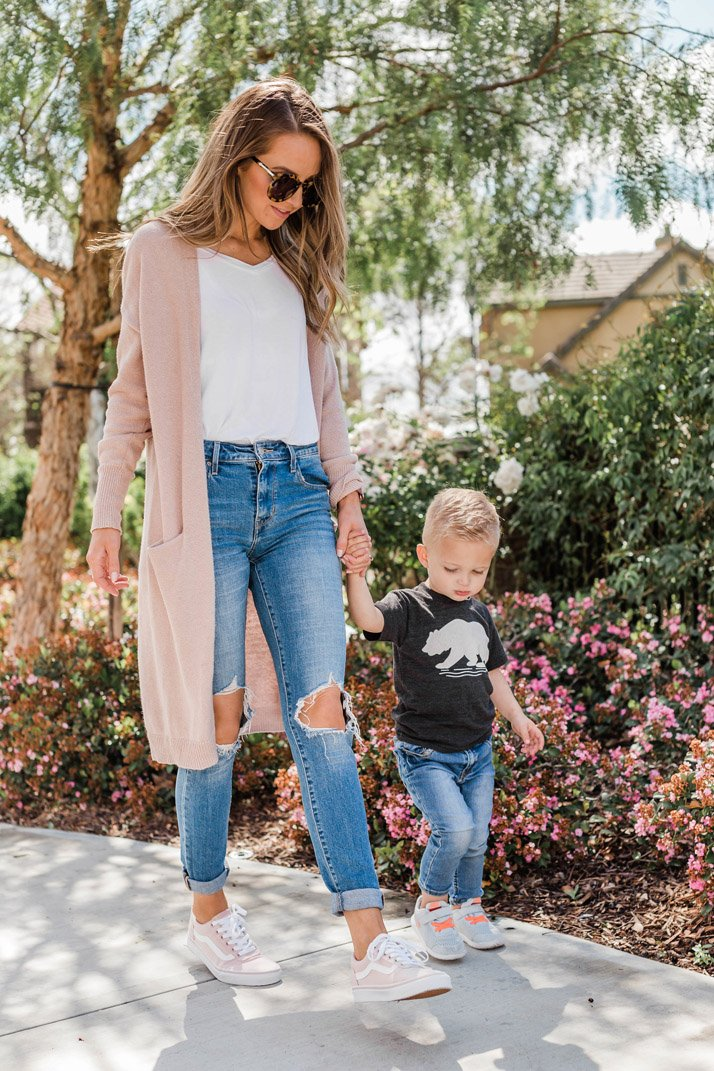 Mommy and me spring outfits