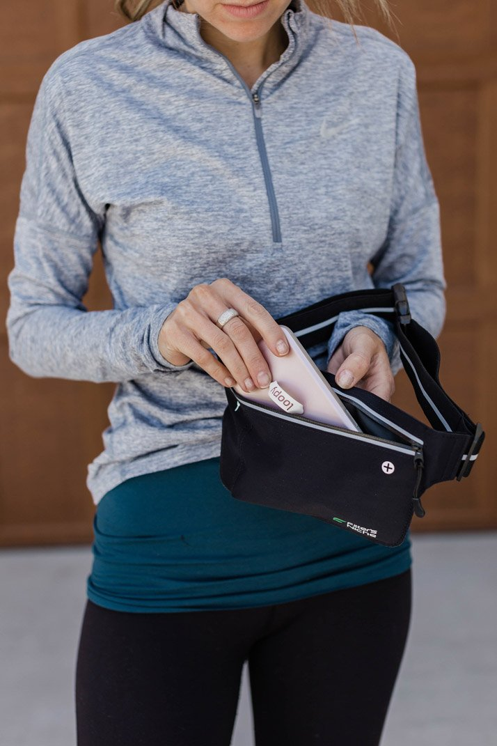 this running fanny pack is perfect for carrying your phone