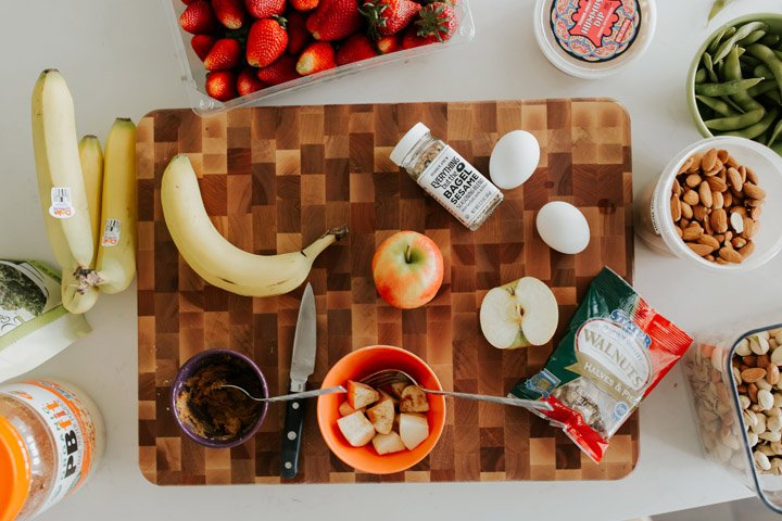 quick, easy, and healthy snacks for families