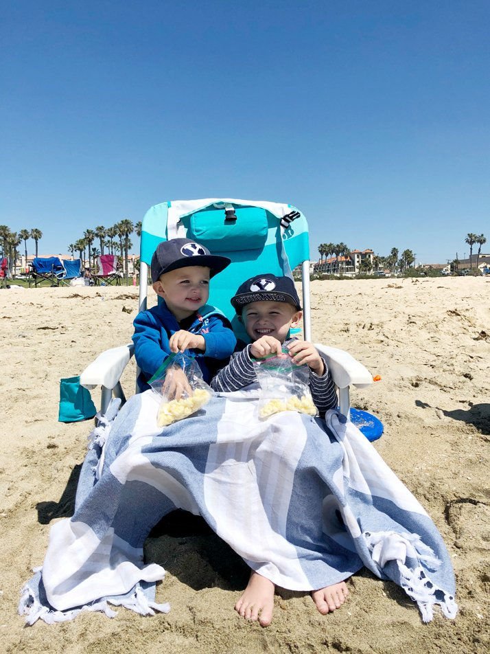 A big list of the best beaches for kids in Orange County!