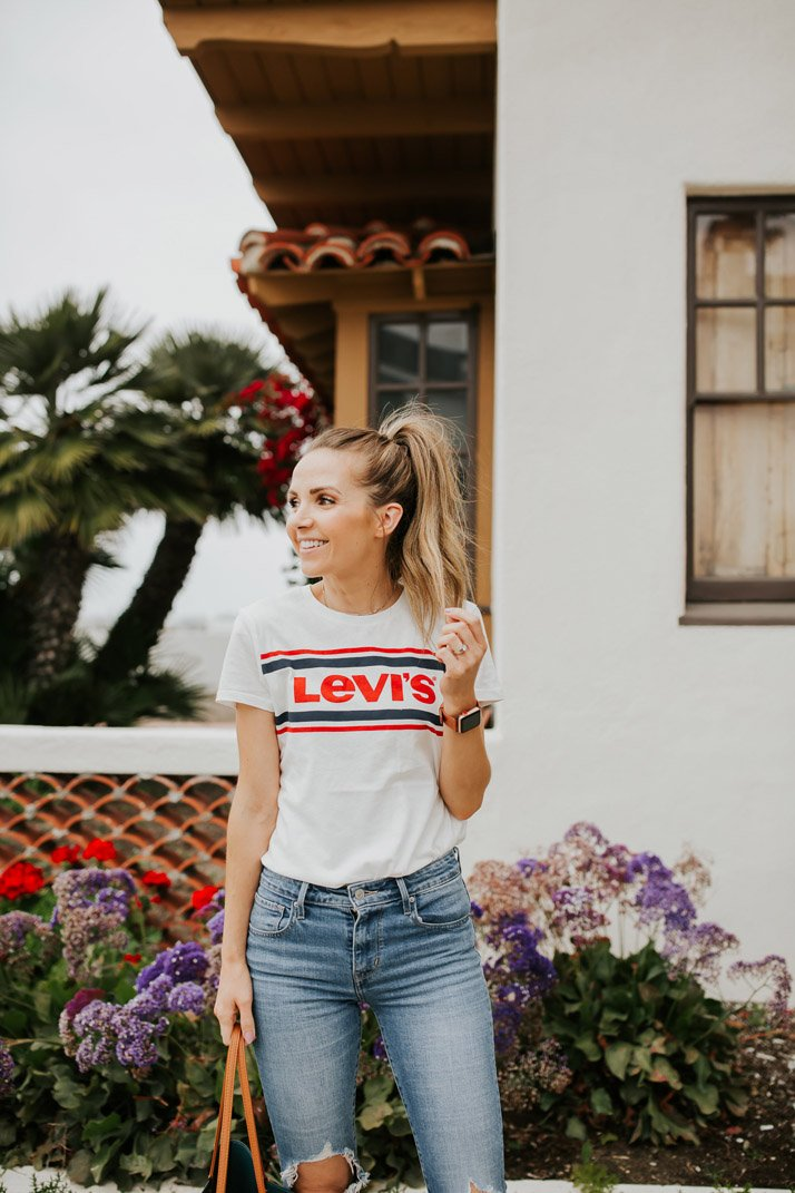 The cutest levi's shirt that's on sale for $15!