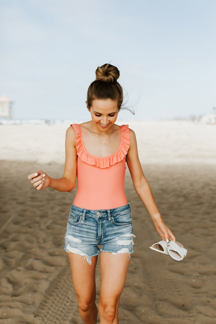 love this cute one piece from j.crew