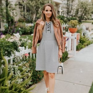 this adrianna papell dress is so cute for spring!