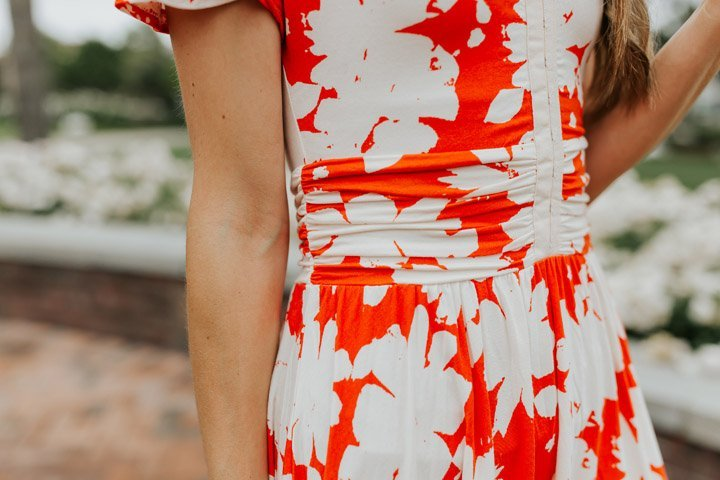 the prettiest details on this anthropologie dress I found on ebay!