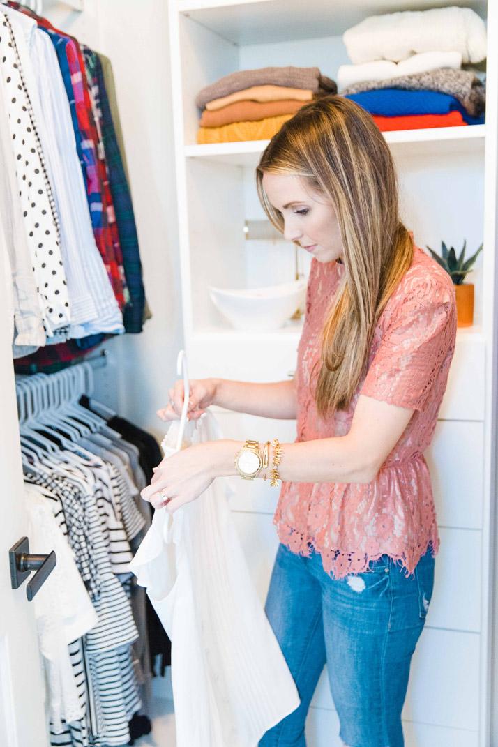 5 tips for closet organization