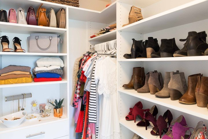five easy tips for organizing your closet so it's easier to get dressed
