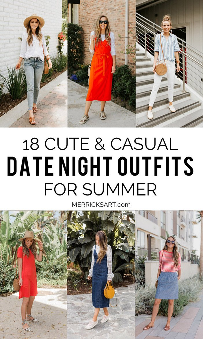 check out these 18 cute and casual date night outfits for summer!