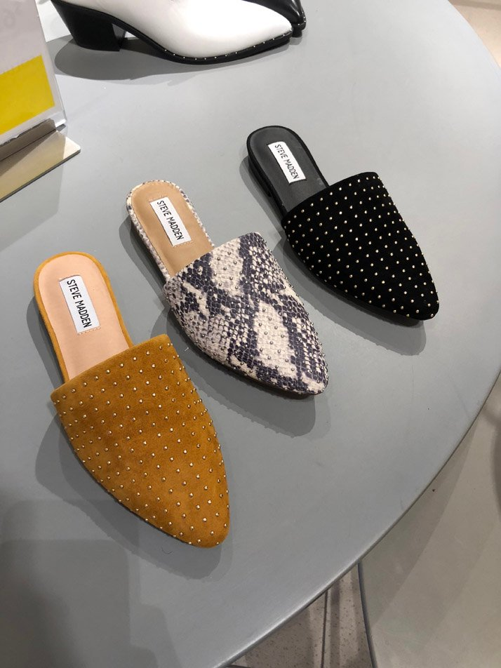 steve madden studded flats we found in the sale