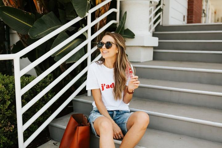 tips to wear bermuda shorts for women
