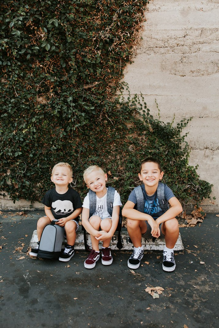 Rack Room Shoes is our one stop shop for shoes, backpacks, and lunchboxes to get the boys ready for back to school