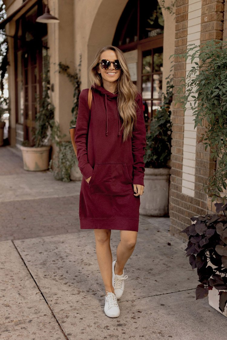 how to wear sneakers with dresses