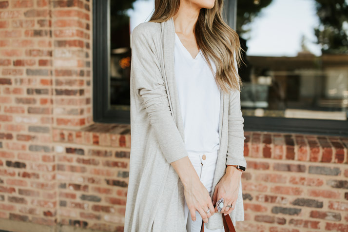 obsessed with this buttery soft cardigan