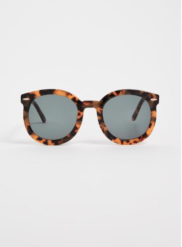 karen walker tortoise frame sunglasses