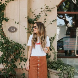 madewell graphic tee