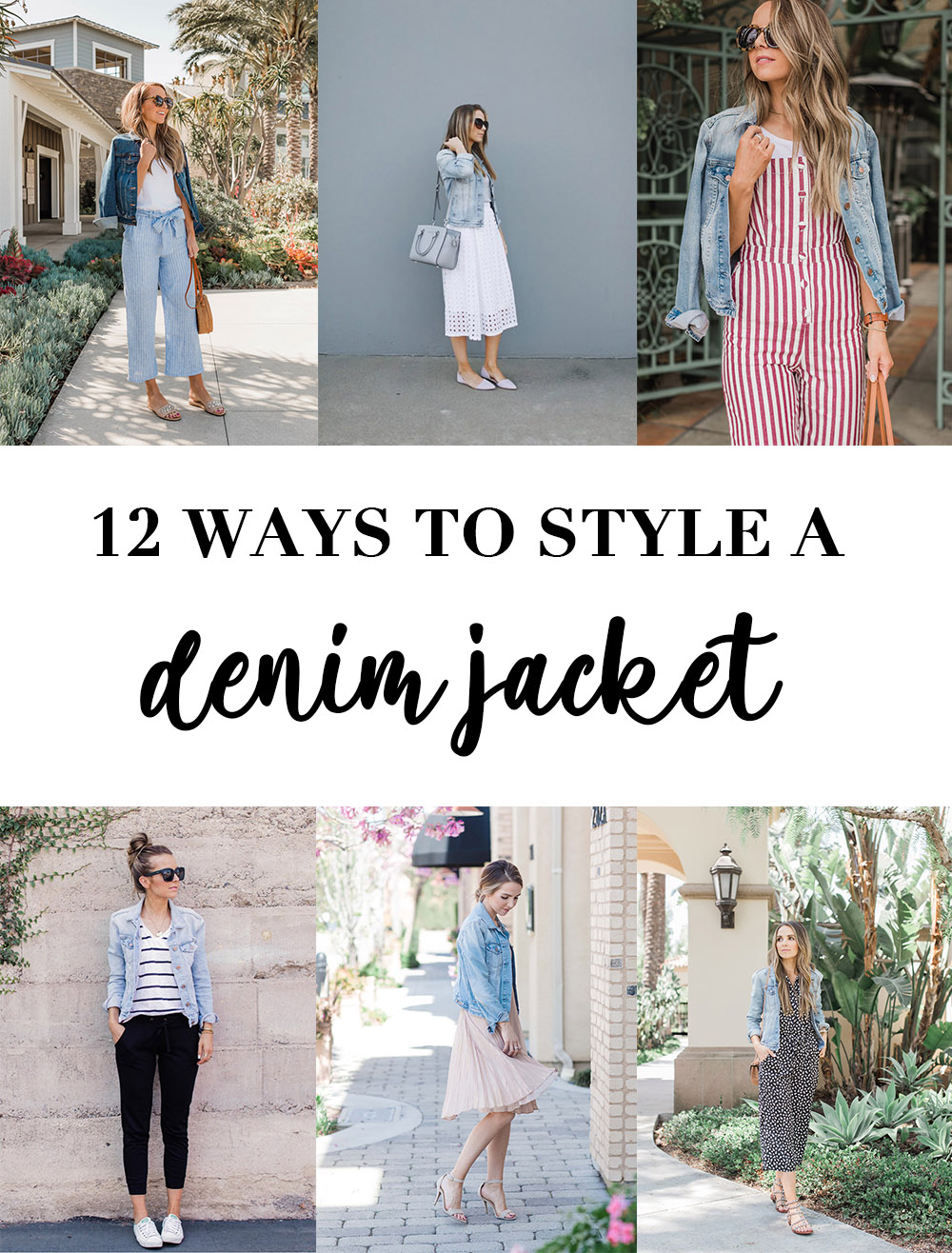 12 ways to style a denim jacket