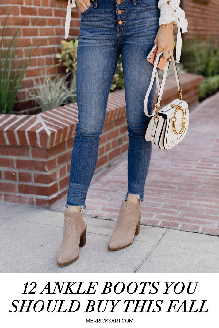 12 ankle boots for fall
