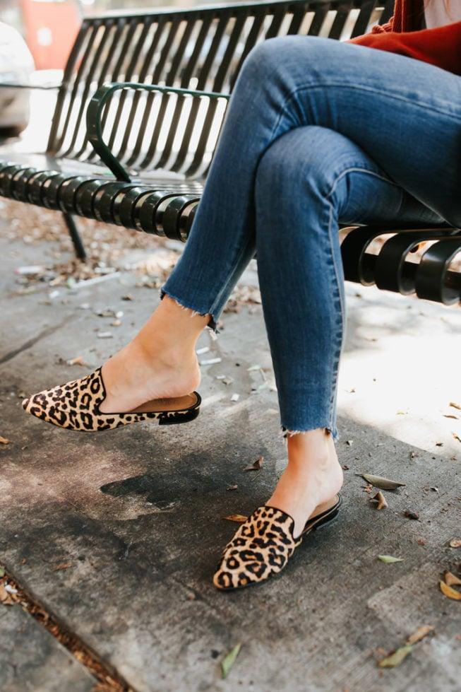 my favorite leopard loafers