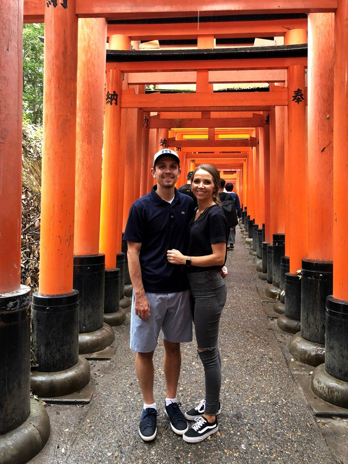 Fushimi Inari Shrine with 10,000 torii gates
