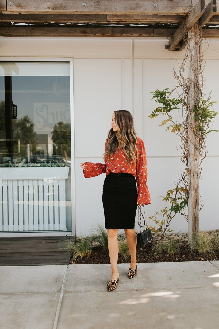 an easy workwear outfit from my evereve box