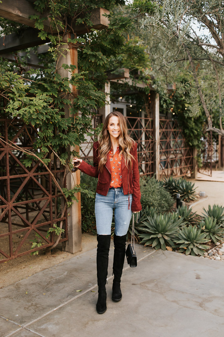 a cute fall outfit with my evereve pieces