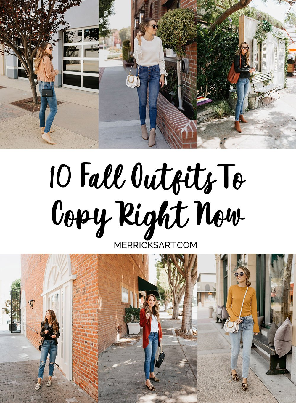 10 fall outfits to copy right now