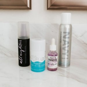 this makeup setting spray is life changing, and I'm loving this new natural deodorant. Check out the rest of my current favorite beauty products!