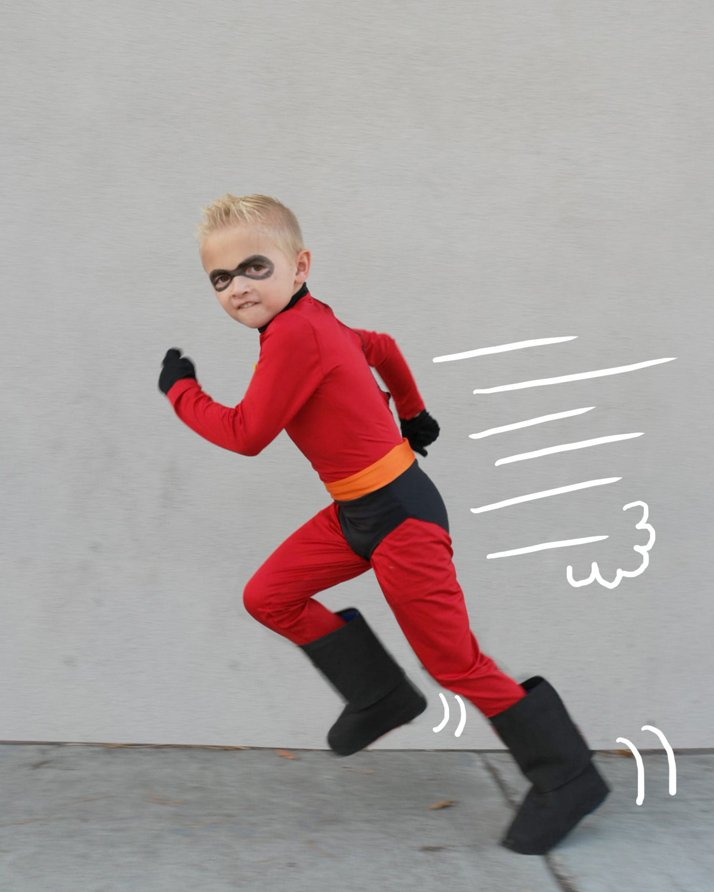 Running Dash from Incredibles
