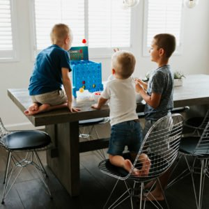 a few of our favorite indoor games with kids