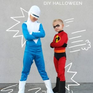 DIY incredibles costumes