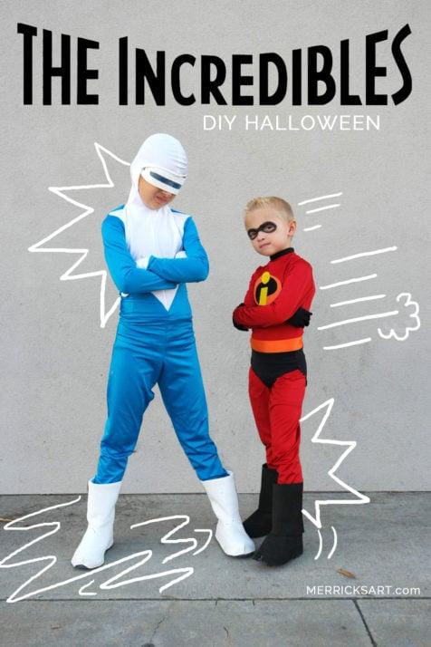 DIY incredibles costumes