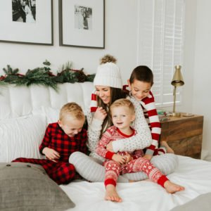 Christmas jammies for the whole family