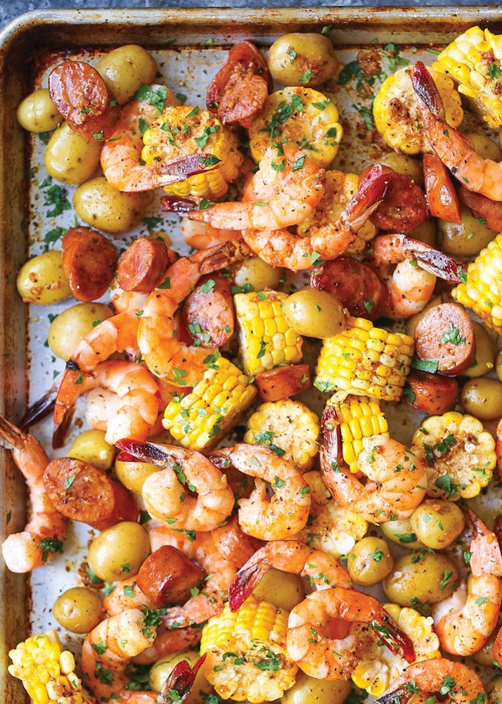 this shrimp boil is delicious and family friendly!