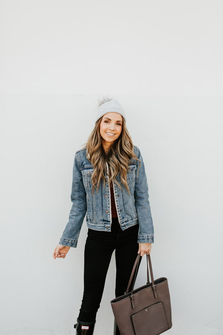 this jacket is a staple in my closet!