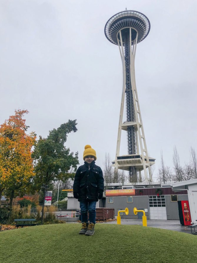 Sanny at the Space Needle copy