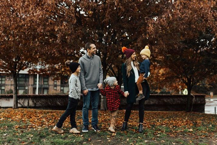 family photos in gas works park seattle washington