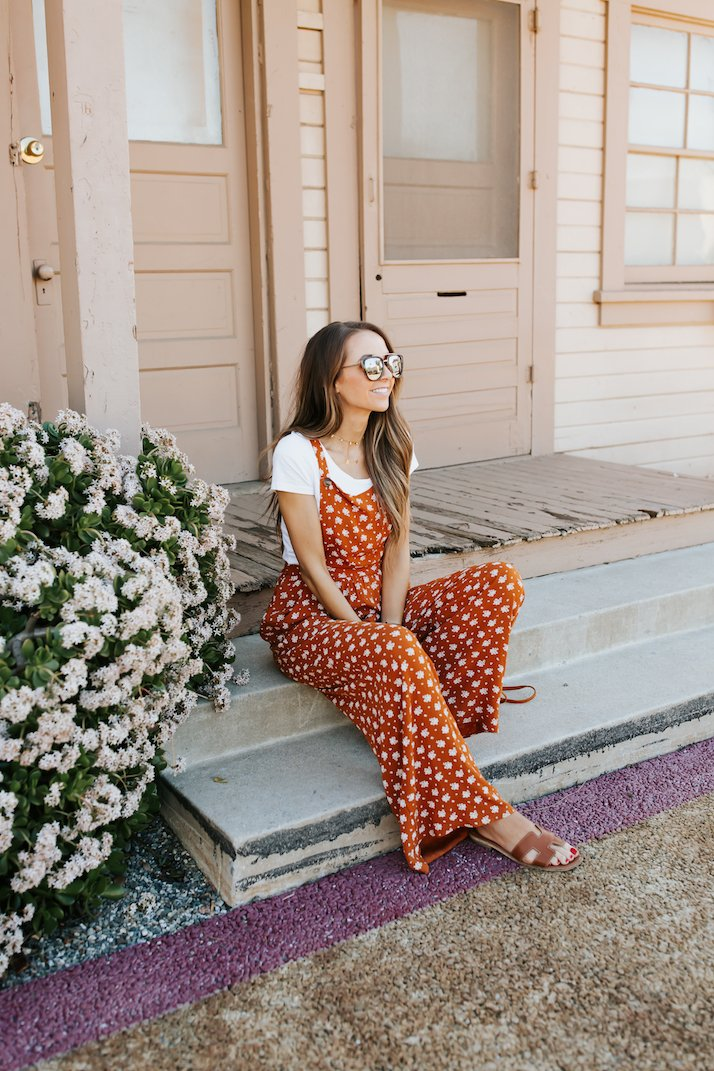 orange overall jumpsuit