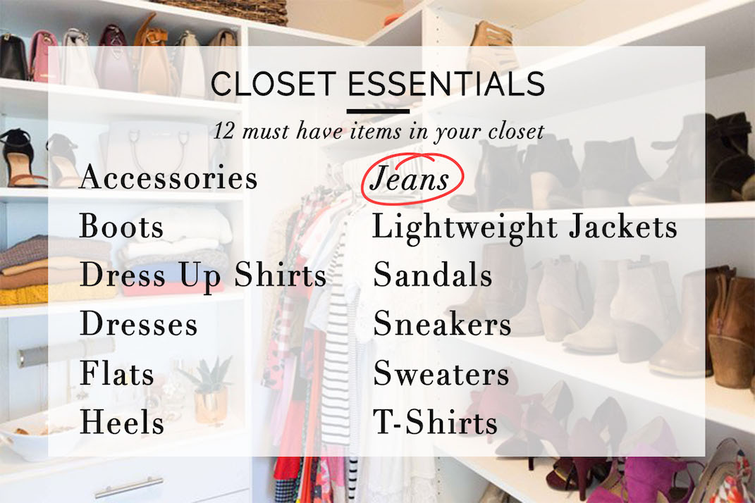 closet essentials for the everyday woman