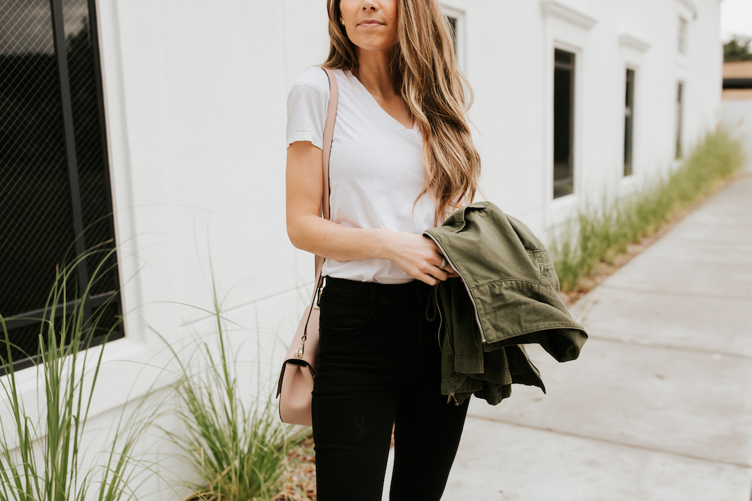 this everlane tee is inexpensive and great quality