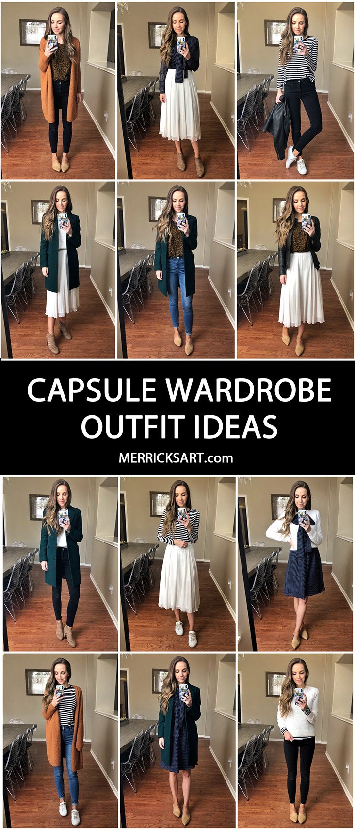 Put together unique and fun ideas even in your capsule wardrobe!