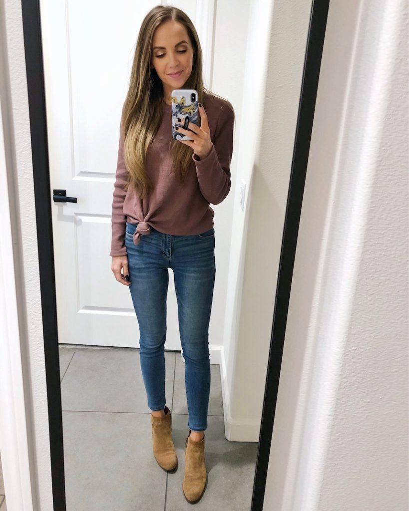 my favorite pair of jeans on sale for under $40!